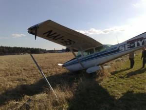 Misslyckad start 2008 - klantig pilot!