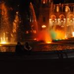 Musik och vattenkonsert I Jerevan